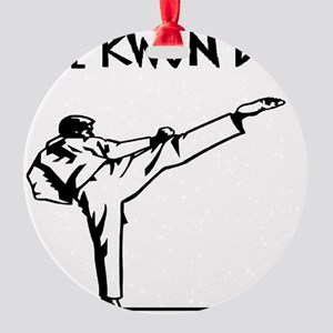 TAE KON DO Round Ornament