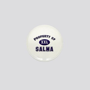 Property of salma Mini Button