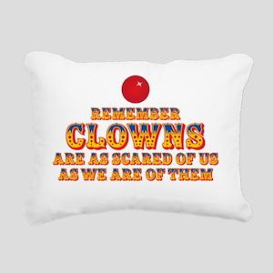 clownsdrk Rectangular Canvas Pillow