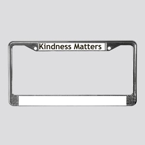 Kindness-01 License Plate Frame