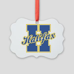 Halifax Letter Picture Ornament
