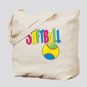softball(blk) Tote Bag