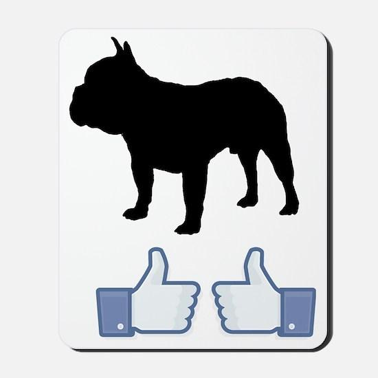 French-Bulldog07 Mousepad