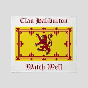 Haliburton Throw Blanket