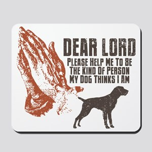 German-Wirehaired-Pointer19 Mousepad