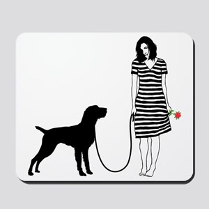 German-Wirehaired-Pointer11 Mousepad