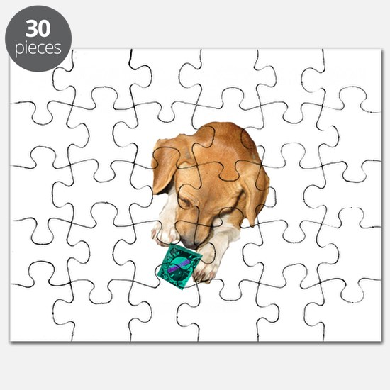 if you think a condom white copy Puzzle