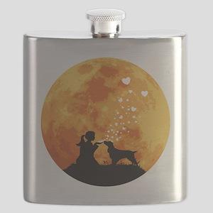 Field-Spaniel22 Flask
