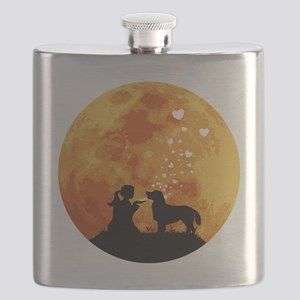 Flat-Coated-Retriever22 Flask