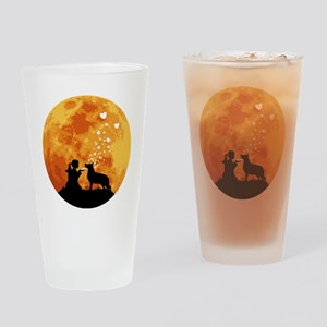 German-Shepherd22 Drinking Glass