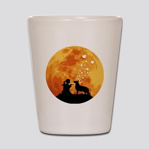 German-Shepherd22 Shot Glass