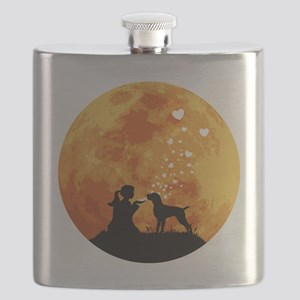 German-Wirehaired-Pointer22 Flask