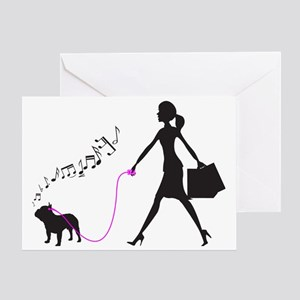 French-Bulldog32 Greeting Card