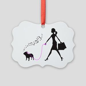 French-Bulldog32 Picture Ornament