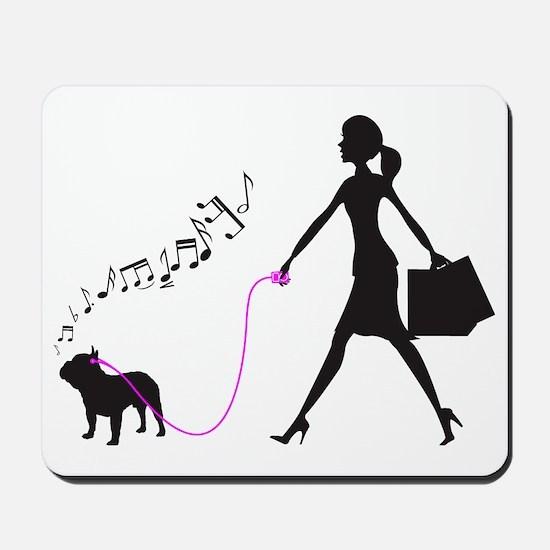 French-Bulldog32 Mousepad