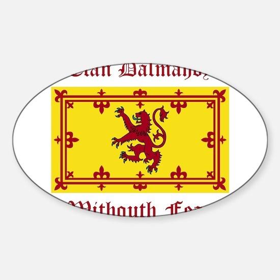 Dalmahoy Sticker (Oval)