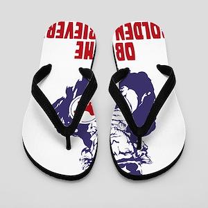 Golden-Retriever18 Flip Flops
