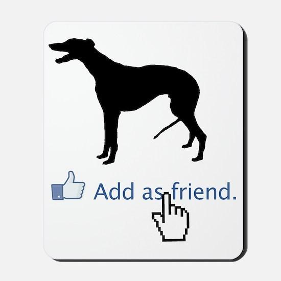 Greyhound13 Mousepad