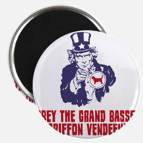 Grand-Basset-Griffon-Vendeen18 Magnet
