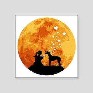 "Greyhound22 Square Sticker 3"" x 3"""