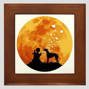 Greyhound22 Framed Tile