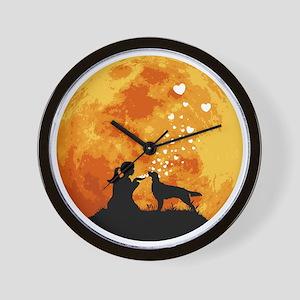 Irish-Red-&-White-Setter22 Wall Clock