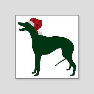 "Greyhound23 Square Sticker 3"" x 3"""