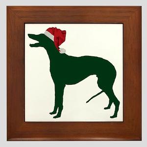 Greyhound23 Framed Tile