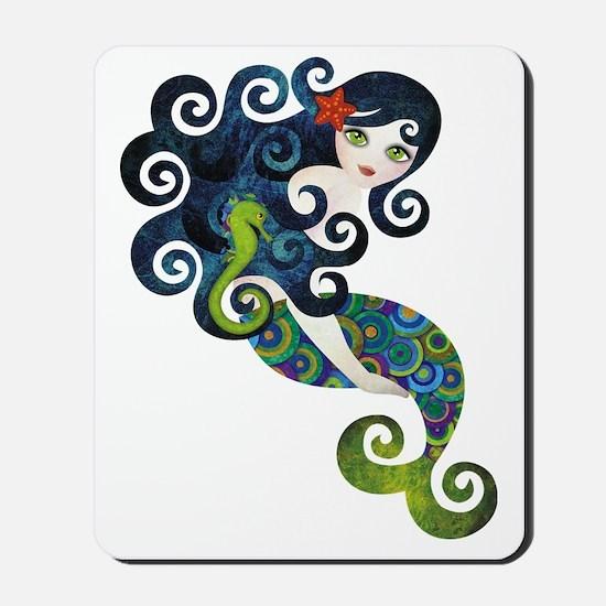 aquamarine1 Mousepad