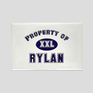 Property of rylan Rectangle Magnet