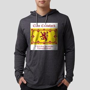 Crawford Mens Hooded Shirt