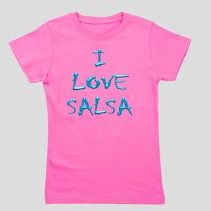 I LOVE SALSA CH  004 Girl's Tee