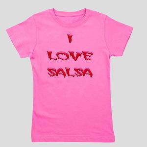 I LOVE SALSA BLD 004 Girl's Tee