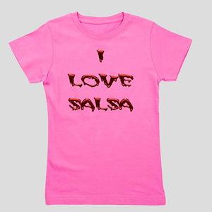 I LOVE SALSA BLD 001 Girl's Tee