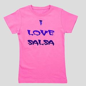 I LOVE SALSA BLD 005 Girl's Tee