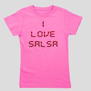 I LOVE SALSA CLK 004 Girl's Tee