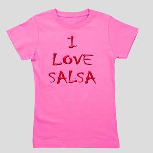 I LOVE SALSA CH  003 Girl's Tee