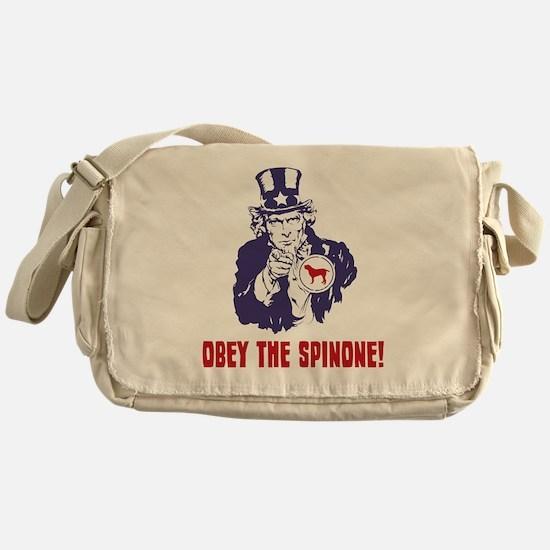 Spinone-Italiano18 Messenger Bag
