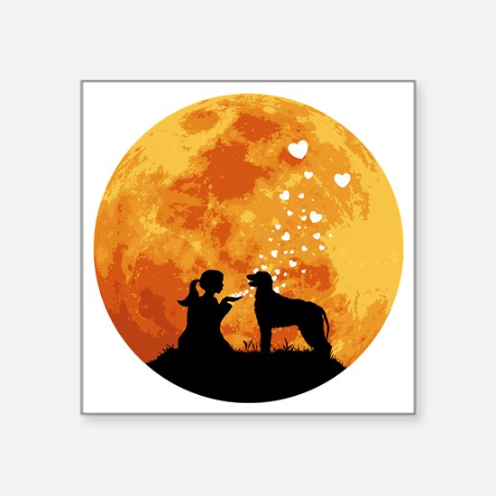 """Irish-Wolfhound22 Square Sticker 3"""" x 3"""""""
