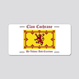 Cochrane Aluminum License Plate