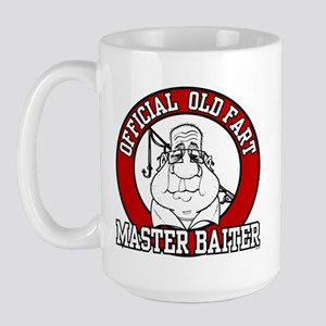 Official Old Fart - Master Baiter Large Mug