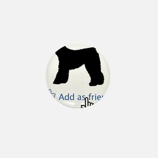 Kerry-Blue-Terrier13 Mini Button
