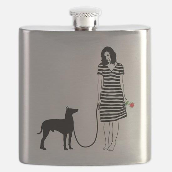 Manchester-Terrier11 Flask