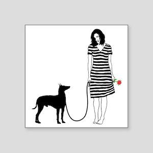 "Manchester-Terrier11 Square Sticker 3"" x 3"""