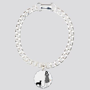 Manchester-Terrier11 Charm Bracelet, One Charm