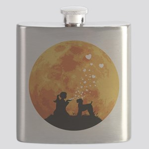 Kerry-Blue-Terrier22 Flask
