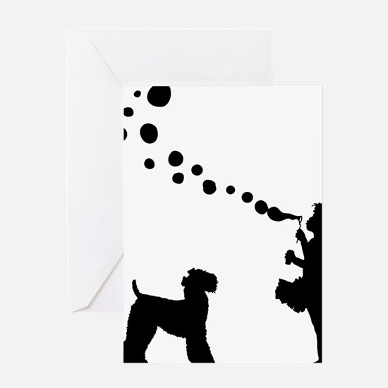 Kerry-Blue-Terrier28 Greeting Card