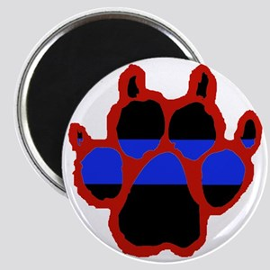 Red Paw FRONT AND BACK 10x10_apparel Magnet