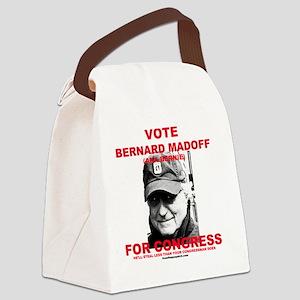 bernardmadoff Canvas Lunch Bag