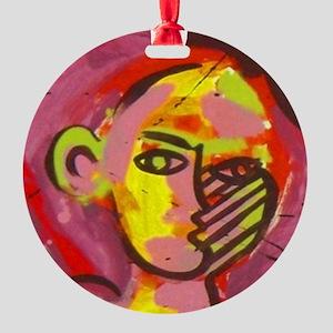 amsterdam pin 1 Round Ornament